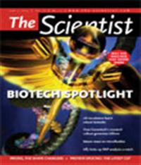 The Scientist June 2004 Cover