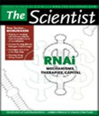 The Scientist September 2004 Cover