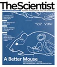 The Scientist April 2010 Cover