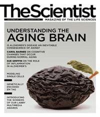 The Scientist September 2011 Cover
