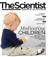 The Scientist March 2012 Cover