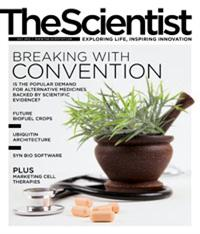 The Scientist July 2012 Cover