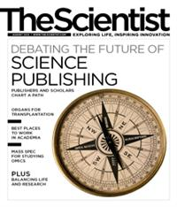 The Scientist August 2012 Cover
