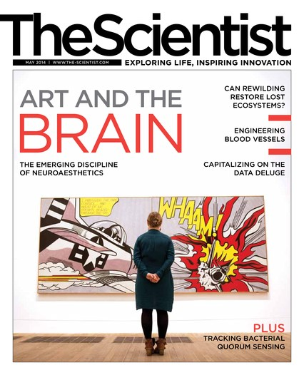 The Scientist May 2014 Cover