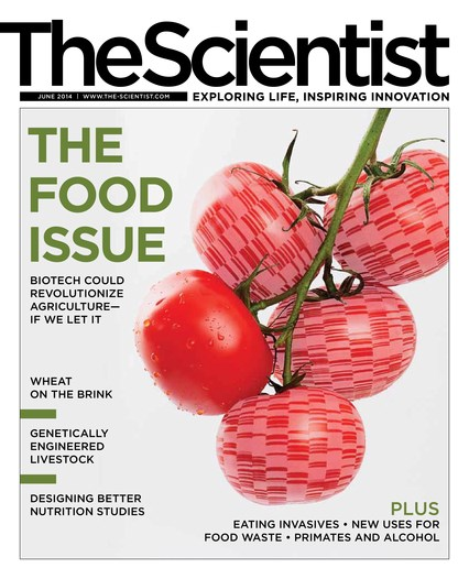 The Scientist June 2014 Cover