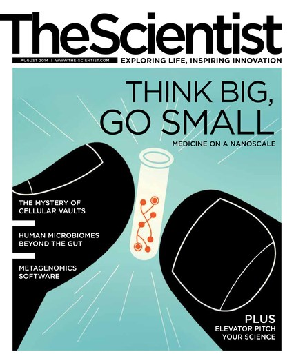 The Scientist August 2014 Cover