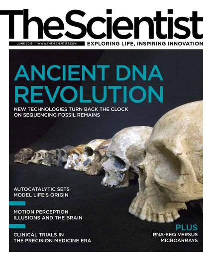 The Scientist June 2015 Cover