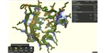 In the game Foldit, players solve protein structures by shaking, wiggling, and generally rearranging chains of amino acids into their optimal, lowest-energy configurations.
