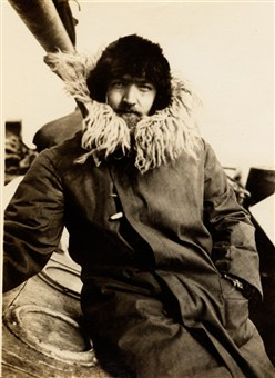 Zoologist Ditlef Rustad on the expedition to Bouvet Island in 1927