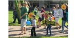 The Raleigh March for Science included a kids' march.