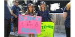 On spring break from San Francisco, Maddy and Catherine decided to come to the March for Science in DC.