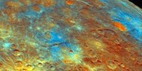 image: Water Ice Detected on Mercury