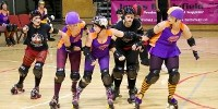 image: Roller Derby Players Share Germs