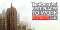 image: Best Places to Work Postdocs 2013