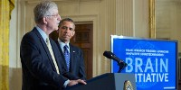 image: Obama Unveils Brain Project