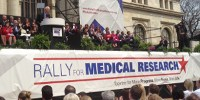 image: Biomedical Researchers Rally for Funds