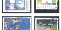 image: A Century of Science on Stamps