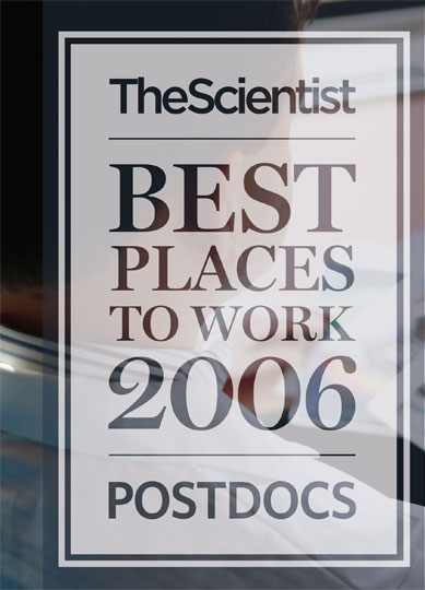 Best Places to Work 2006 - Postdocs