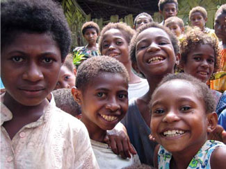 <figcaption>Do these school kids hold the secret to a malaria                 vaccine? Credit: Courtesy of Arlene Dent</figcaption>
