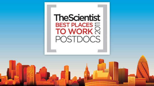 image: Best Places to Work Postdocs, 2011