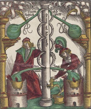 image: Medicinal Alchemy, circa 1512