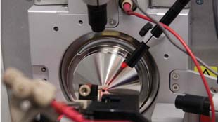 Pedrioli's mass spectrometer