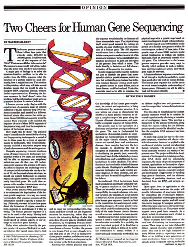 an analysis of the human genome project in genetics
