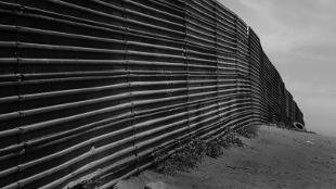 US-Mexico border at Tijuana