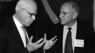 Lloyd Old and Steven Rosenberg