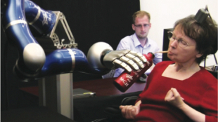image: Mind Control of Robot Arm