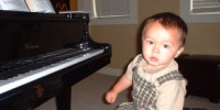 image: Music Lessons Benefit Babies
