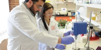 Researchers at work at the #3-ranked DuPont. In the last year, DuPont launched 1,742 new products and applications.