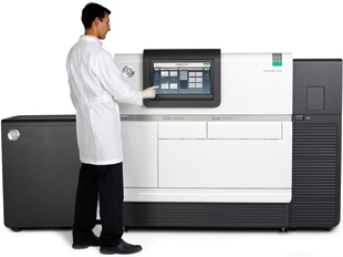 PACIFIC BIOSCIENCES SMRT TECHNOLOGY: The SMRT sequencer, commercially release in April 2011, sequences just  one molecule of DNA at a time, generating sequencing reads  that average more than 1,000 base pairs in length.