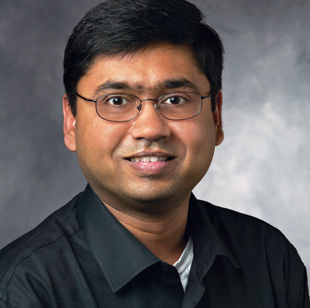 INFORMATICS COLLABORATIONS: Nigam Shah, a biomedical informatics scientist at Stanford University, says it's important to decide early if experimental data can be made public.