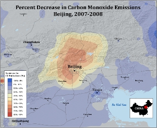 image: Beijing Olympics a Model for Cleaner Air