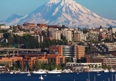 Sage Bionetworks campus in Seattle, Washington.