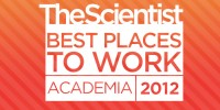 image: Best Places to Work Academia, 2012