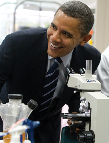 image: Obama's Science Report Card