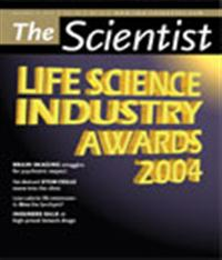 The Scientist December 2004 Cover