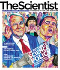 The Scientist September 2008 Cover