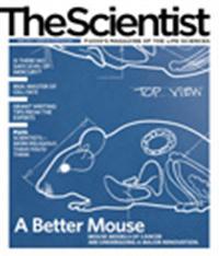 The Scientist April 2010 Cover