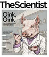 The Scientist June 2010 Cover