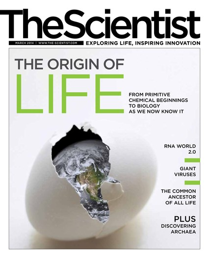 The Scientist March 2014 Cover