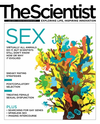 The Scientist July 2014 Cover