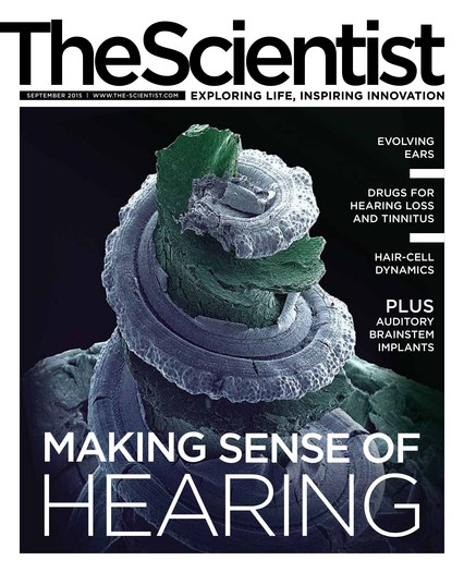 The Scientist September 2015 Cover