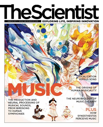The Scientist March 2017 Cover