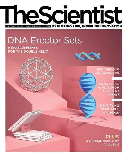 The Scientist July 2017 Cover
