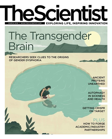 The Scientist March 2018 Cover